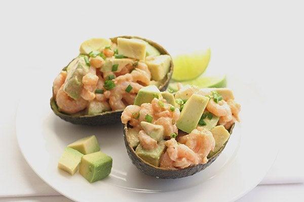 Low Carb Paleo Shrimp and Avocado Salad Recipe