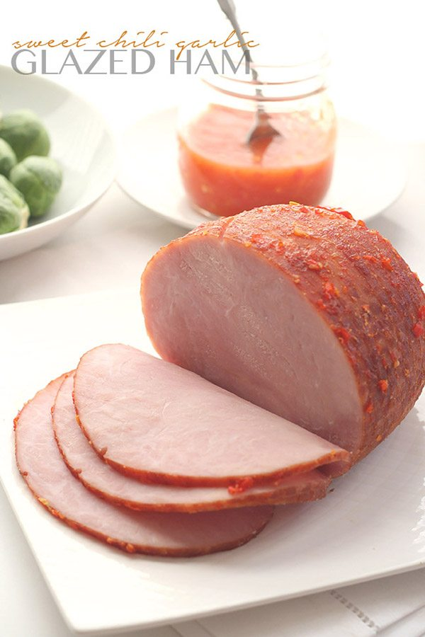 Low Carb Sweet Chili Glazed Ham Recipe