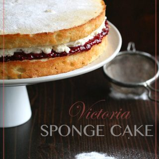 Low Carb Victoria Sponge Cake Recipe