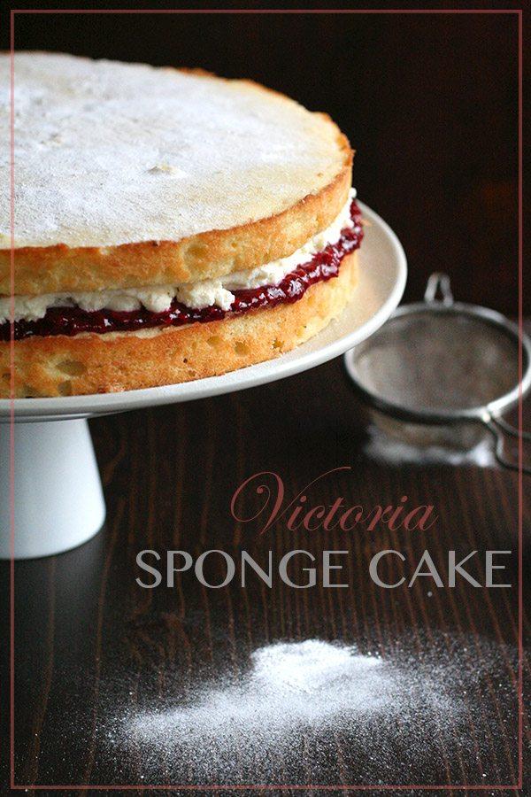 Low Carb Victoria Sponge Cake Recipe