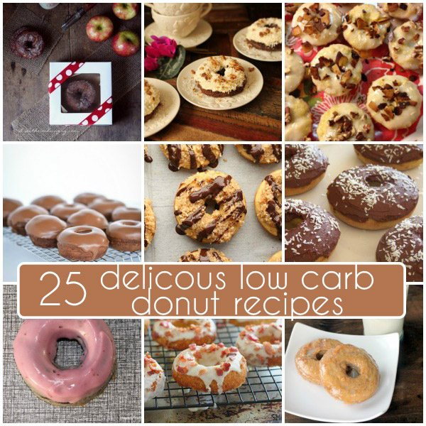 25 Delicious Low Carb Donut Recipes