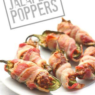 Low Carb Chorizo Cheddar Jalapeño Poppers