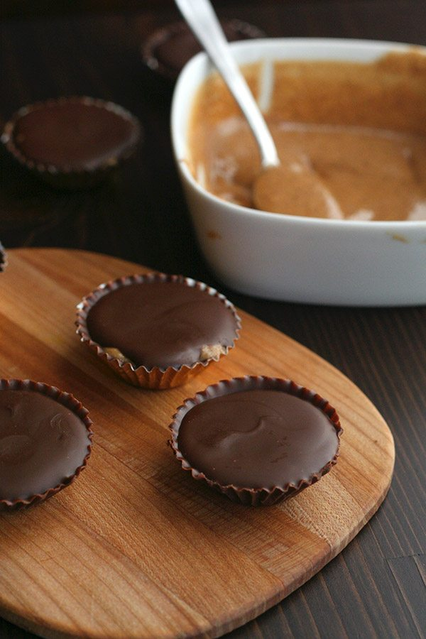 Healthy Grain-Free Cookie Butter Cups
