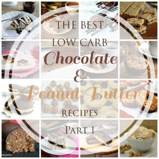 All the best low carb keto chocolate and peanut butter recipes right here. Indulge guilt-free!