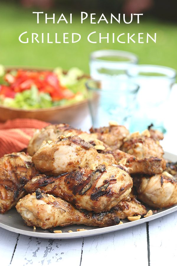 Low Carb Thai Peanut Grilled Chicken Recipe