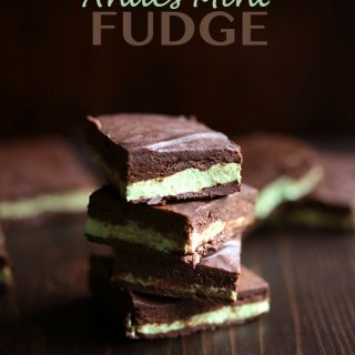 Healthy Low Carb Andes Mint Fudge