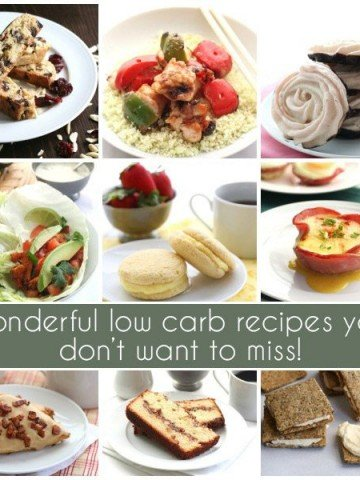 Best low carb recipes April and May 2015