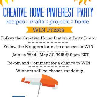 Creative Home Summer Pinterest Party