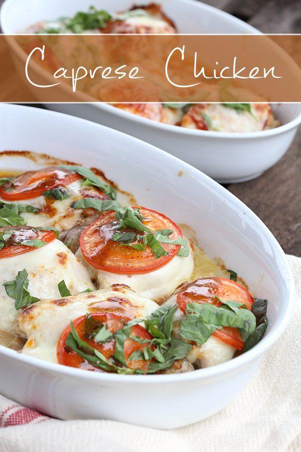 Low Carb Caprese Chicken Recipe