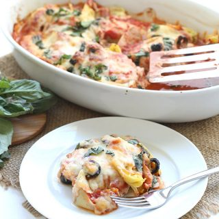 Low Carb Easy Mediterranean Chicken Bake
