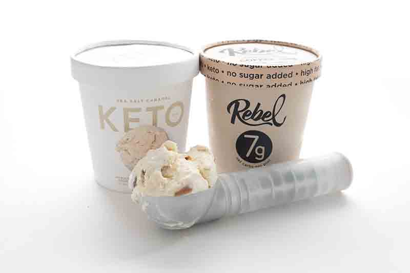 Pints of keto friendly ice cream brands