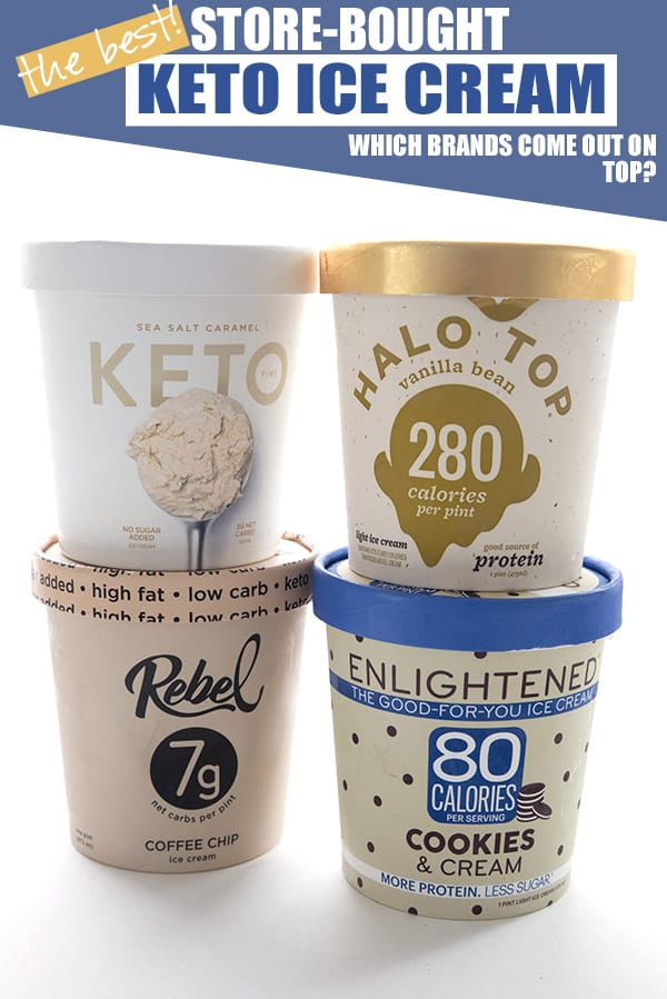 Best keto ice cream brands