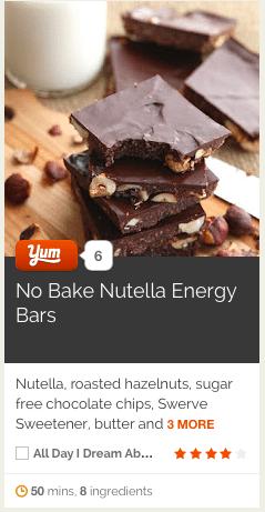 No Bake Nutella Bars on Yummly