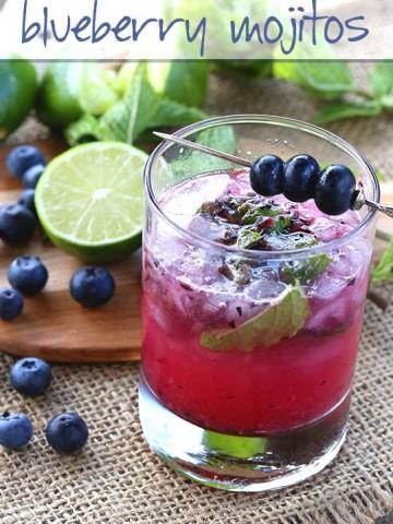 Low Carb Blueberry Mojito Recipe