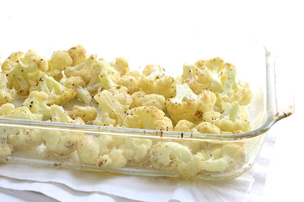 Roasted Cauliflower, the best low carb snack!