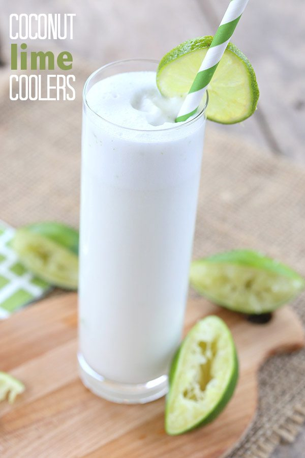 Low Carb Coconut Lime Beverage