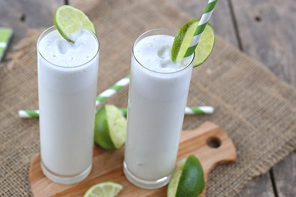 Low Carb Sparkling Coconut Lime Coolers