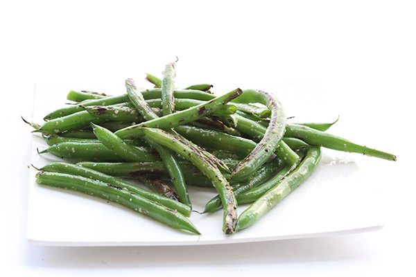 Low Carb Paleo Blistered Green Beans