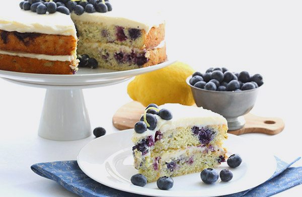 Low Carb Blueberry Zucchini Cake Recipe