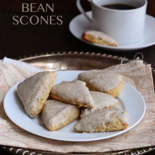 Mini Vanilla Bean Scones