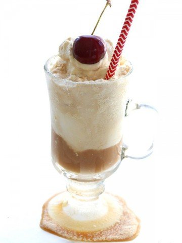 Low Carb Root Beer Float Recipe with NO artificial sweeteners!