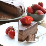 Death By Chocolate Cheesecake - low carb, grain-free recipe
