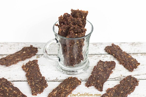 Spicy-low-carb-ground-beef-jerky-recipe