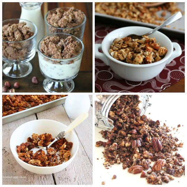 Low Carb Cereal for travel snacks
