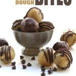 Low Carb No Bake Chocolate Chip Cookie Dough Bites
