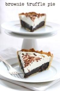 Low Carb Brownie Truffle Pie Recipe