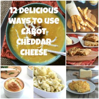 Best low carb recipes using cheddar cheese!