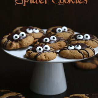 Low Carb Grain-Free Chocolate Peanut Butter Spider Cookies