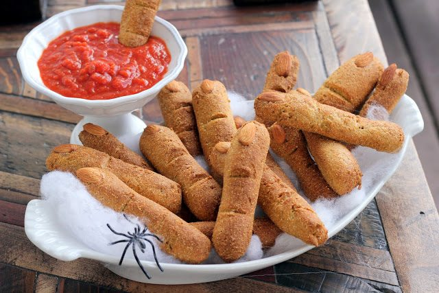 Low Carb Witches Fingers