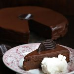 Low Carb Grain-Free Chocolate Sacher Torte Recipe