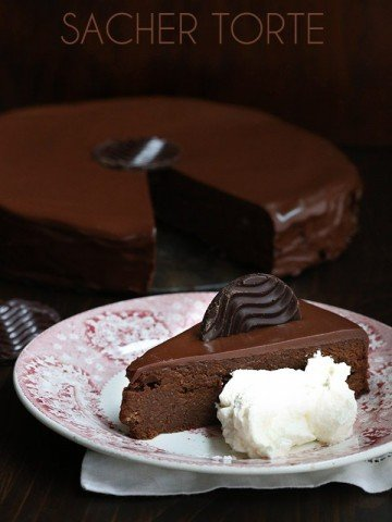 Low Carb Grain-Free Chocolate Sacher Torte Recipe