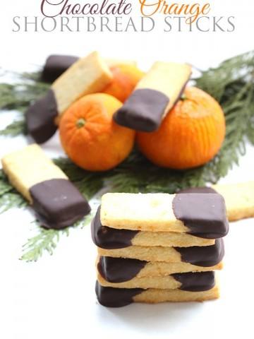 Low Carb Chocolate Orange Shortbread Recipe