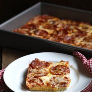 Easy Pan Pizza