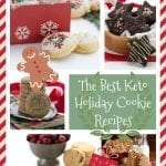 Low Carb Christmas Cookies Collage