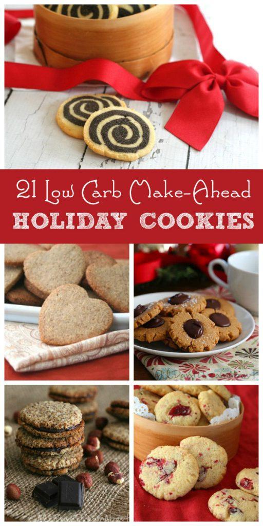 Best Low Carb Make Ahead Christmas Cookies