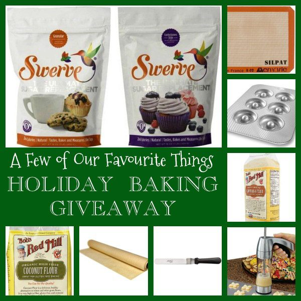 Low Carb Holiday Baking Giveaway