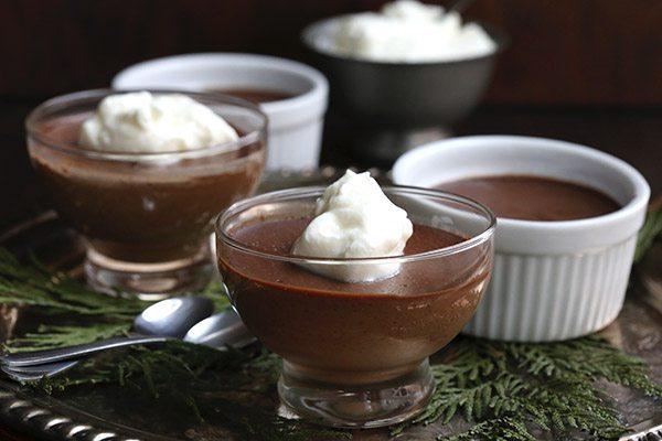 Low Carb Chocolate Ginger Pots De Creme