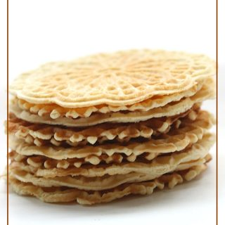 Low carb Gluten-free Pizzelle, a holiday classic made healthy