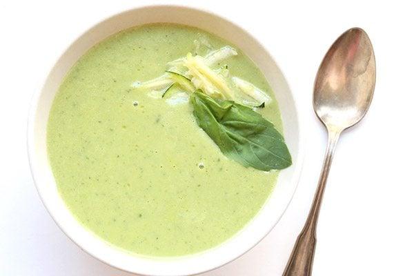 Zucchini Basil Soup 2