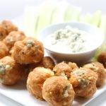 Low Carb Grain-free Buffalo Chicken Sausage Balls Recipe
