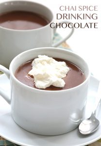 Low Carb Chai Spice Drinking Chocolate