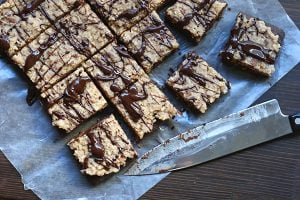 Low carb grain-free German Chocolate Brownies