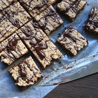 Low carb grain-free German Chocolate Brownies