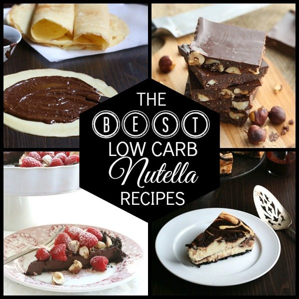 Best low carb Nutella recipes