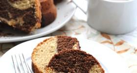 Peanut Butter Marble Bundt Cake