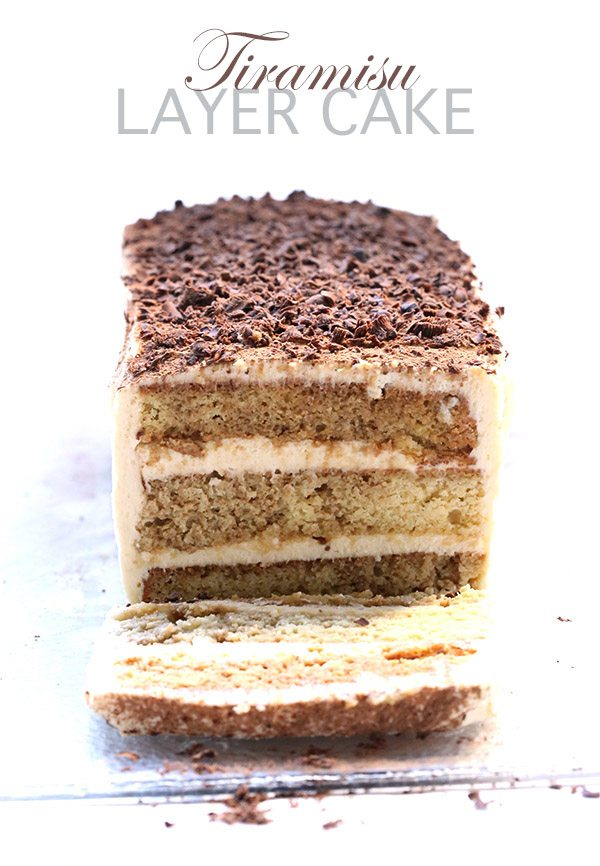 Low Carb Grain-Free Tiramisu Layer Cake